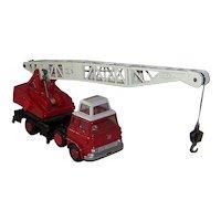 Vintage 1960 Dinky Toys Bedford-Jones Fleetmaster 970 Cantilever Crane Toy
