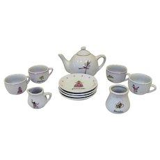 Vintage Schylling Princess Children's Tea Set