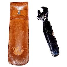 Vintage Personal Multi-Tool With Leather Case