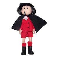 Vintage 1998 Pepito Doll From Eden Toy Line Of Madeline Dolls