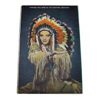 Vintage 1940's State Of Oklahoma Travel Postcards