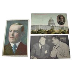 Antique & Vintage Political & American Personality Postcards