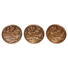 Vintage 1988 New Orleans Mardi Gras Doubloons