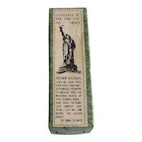 Vintage 1940's Statue Of Liberty New York City Souvenir