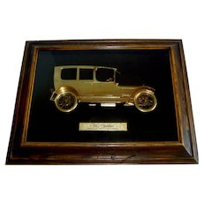 Vintage 1970's Scarce Automobile Dealership Advertising Showroom Display