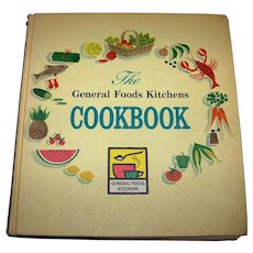 Vintage 1959 First Edition First Printing General Foods Kitchens Cookbook