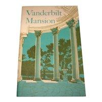 Vintage 1961 Vanderbilt Mansion United States National Historical Site Handbook