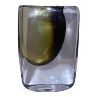 Vintage Signed Stromberg Tri Color Bud Vase B952