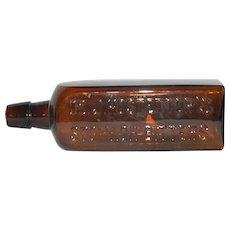 Vintage Dr. J. Hostetter's Stomach Bitters Bottle