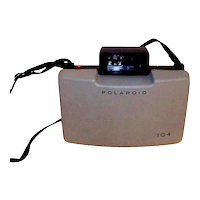 Vintage 1965 Polaroid Automatic Model 104 Instant Pack Film Land Camera With Accessories