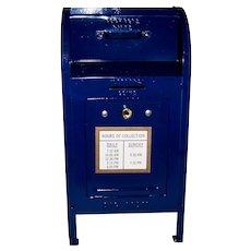 Vintage Brumberger Original U S Postal Service Metal Mailbox Still Bank