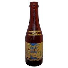 Vintage 1940's Vanti Pa-Pi-A Soda Bottle