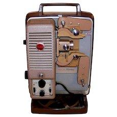 Vintage1959 Mid-Century Kodak A30 Showtime 8MM Variable Speed Movie Projector