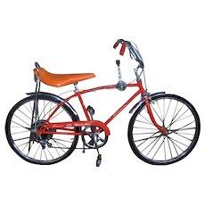 Vintage All Original Grandmother's 1971 Schwinn Manta- Ray Boys 5-Speed Bicycle