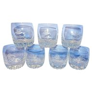 Vintage Royal Crown Old Fashion Glasses
