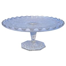 Vintage EAPG Small Cake Plate