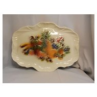 Vintage Lane and Co Large Fruit Platter 1958