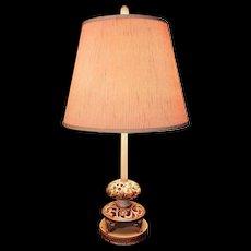Vintage Capodimonte Table Lamps
