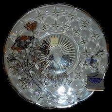 Vintage Silver City Flanders Pattern on Constellation Sandwich Plate