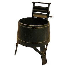 Vintage EMIG Cast Iron Washing Machine Planter