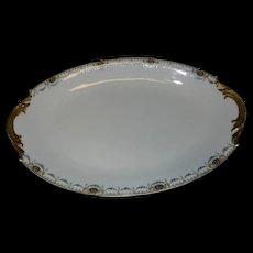 Vintage F-Legrand & Cie China Oval Serving Platter Made in Limoges