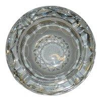 Vintage Innisfree Crystal  Ashtray
