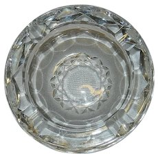 Vintage Innisfree Crystal  Ashtray