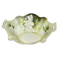 Vintage R S Prussia Footed Candy Dish circa 1912-1945
