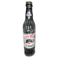 Vintage Sun Rise Soda Bottle