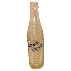 Vintage Orangette Lemonette Soda Bottle
