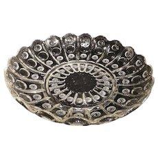 Antique, EAPG Dalzell Gilmore & Leighton Low Bowl or Platter Priscilla pattern #61