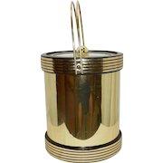 Vintage Kraftware Brass Ice Bucket