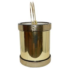 Vintage Kraftware Brass Ice Bucket