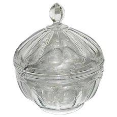 "Vintage Heisey 9 ½"" Crushed Fruit Bowl with Inner Drip & Drain Rim"
