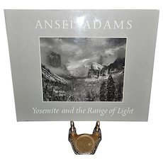 Vintage 1979 First Edition Hard Cover Ansel Adams Yosemite and the Range of Light