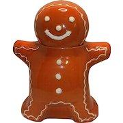 Vintage Hartstone Gingerbread Man Cookie Jar