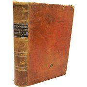 Fenner's Working Formulae- 1886 A Hand Book of the Old and The New Pharmacopecias