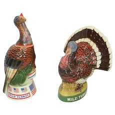 Vintage Wild Turkey Series 1 Decanters