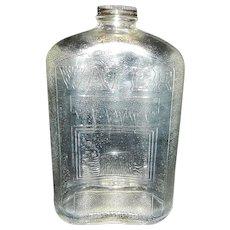 Vintage Owens Illinois Refrigerator Water Bottle 2 Qt.