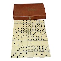 Vintage Cardinal Dominoes in Carrying Case