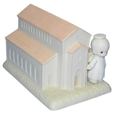 Vintage 1989 Precious Moments Special Commemorative Chapel Figurine 523011 by Samuel Butcher