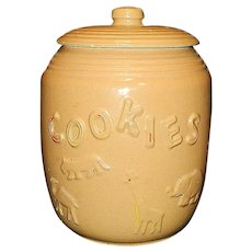 Vintage Animal Cracker Cookie Jar