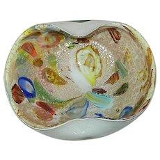 Vintage Murano Tutti Frutti Bowl