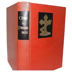 Crime and Punishment Fyodor Dostoevsky Illustrated Heritage Press 1938 New York