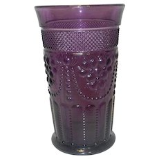 Vintage Chroma Amethyst Ice Tea Glass by Imperial Glass Company