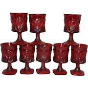 Vintage Noritake Spotlight Red Wine or Cordial Glasses