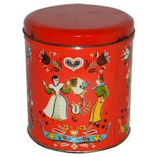 Vintage Candy Tin