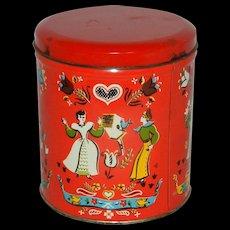 Vintage Candy Tin
