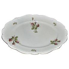 Rosenthal Moss Rose POMPADOUR Pattern Large Platter