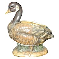 Vintage Japanese Ceramic Goose Planter C8984 made by Napcoware
